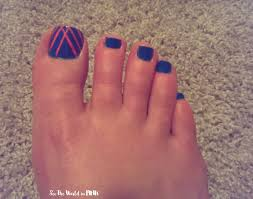 manicure monday watermelon nail art monthly pedicure foot