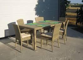 tavoli da giardino rattan gallery of tavoli da giardino in rattan sintetico bei mobili della