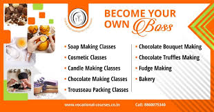 cosmetic classes csdo soap cosmetic chocolate candle bakery banner