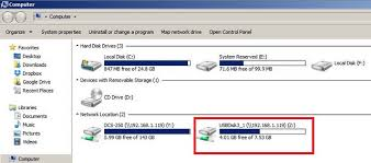 use map drive how to use the usb drives and map them dns 340l d link uk