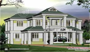 3650 square feet home exterior house design plans