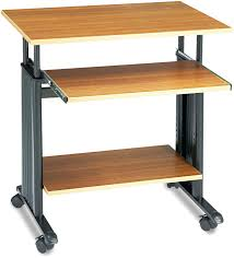 Adjustable Height Computer Desk Workstation by Amazon Com Safco Products 1925cy Muv 29 34