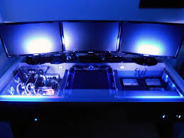 Gaming Desktop Desk by 13 Best Ultimate Gaming Setup Images On Pinterest Gaming Rooms