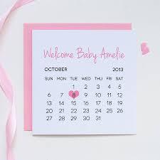 personalised new baby card by thispaperbook notonthehighstreet