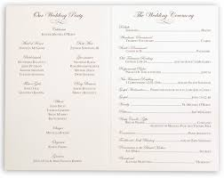 sle of wedding program wedding program remembrance wording wedding ideas 2018