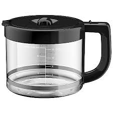 KitchenAid KCM11GC 12 Cup Glass Carafe ClearBlack by fice Depot