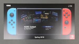 music making game korg gadget is heading to nintendo u0027s switch in 2018
