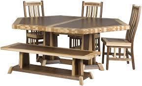 Simple Kitchen Tables by Handcrafted Timber Edge Tables From Erik Organic