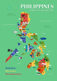 Philippine Map Philippines Tourism Map Image Gallery Hcpr