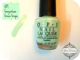 mint nail polish picks for summer opi sally hansen essie mny