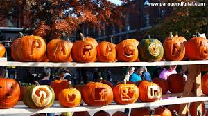 Smashing Pumpkins Halloween - paragon carves some pumpkins for keene pumpkin fest