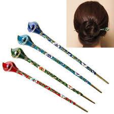 hair chopsticks women metal rhinestone handmade hair stick hair chopsticks hairpin