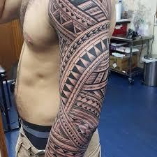 37 tribal arm tattoos that don t tattooblend