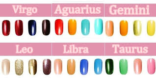 pick the right nail polish color based on your zodiac sign www