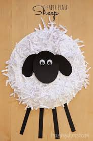 Lamb Decorations For Easter by 40 Simple Easter Crafts For Kids One Little Project