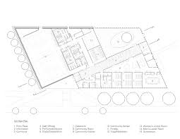 Locker Room Floor Plans Gallery Of Trec Newark Housing Authority Ikon 5 Architects 12