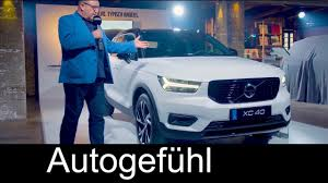 exterior design volvo xc40 r design first look exterior interior review all new