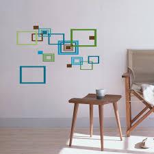 simple diy home decor diy simple geometric radius wall art sticke stickers decorative