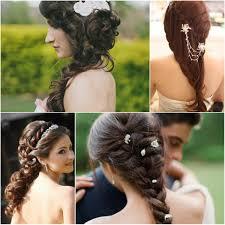elegant long hairstyles elegant side swept curls wedding prom