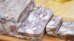 cuisine braun braun or headcheese recipe sbs food