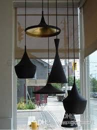 Black Kitchen Light Fixtures by Discount Beat Lights Tall Fat Wide Black White Aluminum