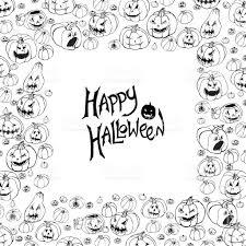 halloween vectors halloween vector frame stock vector art 612834286 istock