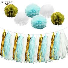 Blue And Gold Baby Shower Decorations by Compare Prices On Boy Baby Shower Decorations Blue And Gold