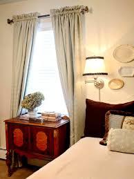 Bay Window Treatments For Bedroom - enchanting bedroom windows curtains ideas amorous bedroom window