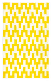 Yellow Flat Weave Rug Yellow Rugs Decor By Color