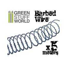 5 meters to feet buy 5 meters 16 feet of simulated barbed wire ideal for making