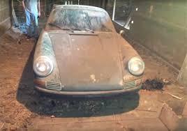 porsche irish green barn find 1965 irish green porsche 911 damnedwerk