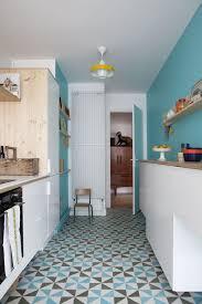 cuisine coloree carrelage cuisine mur photos de design d intérieur et décoration