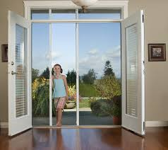 Sliding French Patio Doors With Screens Screenmobile Of Northern Tucson Az Expert On Site Professional