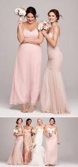 plus size pink wedding dresses and ethereal bridesmaid dresses you ll blush