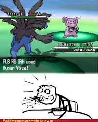 Fus Ro Dah Meme - pok礬memes fus ro dah pokemon memes pok礬mon pok礬mon go