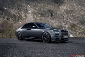 matte rolls royce ghost official rolls royce ghost by spofec gtspirit