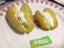 boursin cuisine recettes pomme de terre au four au boursin b