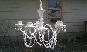 Shabby Chic Chandeliers by Why Buy When You Can Diy Shabby Chic Chandelier