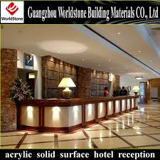 Hotel Reception Desk Two Piece Small Hotel Reception Desk Design View Hotel Reception