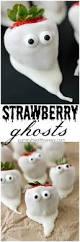 White Chocolate Covered Strawberries Around Chocolate Covered Strawberry Ghosts Yummy Healthy Easy