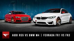 lexus rcf vs audi s5 bmw m4 vs audi rs5 ferrada wheels fr1 u0026 fr3 on vimeo