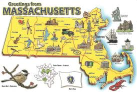 Map Boston Ma by Map Of Ma Map Of Mass United States Of America