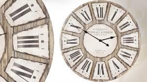 Grande Horloge Murale Carrée En Bois Vintage Achat Horloge Murale Design Pas Cher Free Fabulous Horloge Murale Design