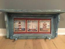 nautical coat rack ebay