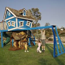 premium fantasy treehouse called monkey mansion available from