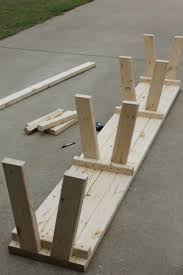 Make Wood Patio Furniture by Best 25 Diy Bench Ideas On Pinterest Benches Diy Wood Bench