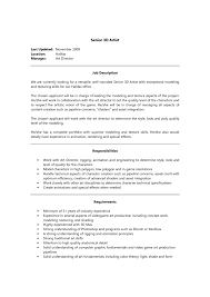 artist cover letter sample pdf job and resume template