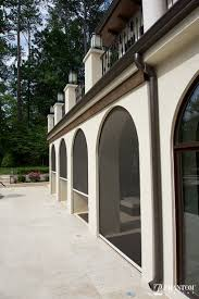 creating an outdoor patio retractable motorized screens by phantom screens are recessed into