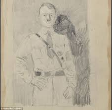 sketches of and officials by british artist given