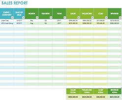 Sales Call Report Template Excel by Free Sales Plan Templates Smartsheet